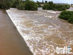 Единствено екип на TrafficNews.bg в центъра за наблюдение на река Марица /видео/