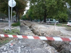 Как недовършен ремонт разби улица?