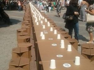 """""""Културни"""" хора откраднаха картонените столчета от Главната"""