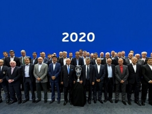 Финалът на Евро 2020г.  на стадион \