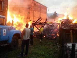 Огромен пожар обхвана Ракитово!