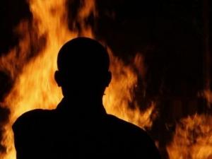Мъж се самозапали в Северозападен Китай