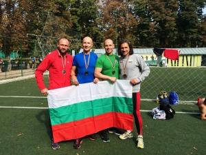 Пловдивчани се върнаха с медали от Световното по лека атлетика за ветерани