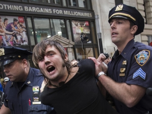 Масови протести в Ню Йорк
