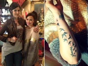 Татуировките на звездите