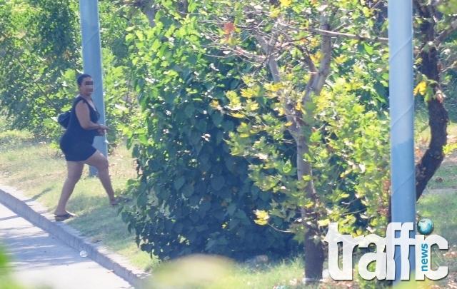 Набиха и обраха проститутка в Ботаническата градина