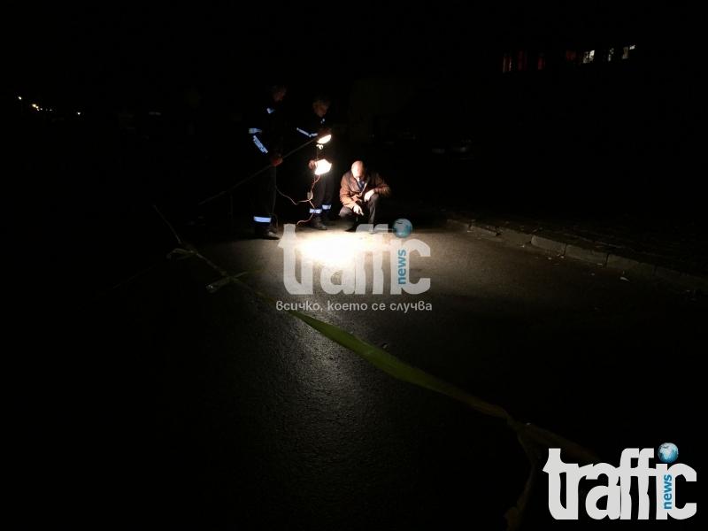 """Първо в TrafficNews: Трагедия в """"Кючук Париж""""! Премазаха пешеходец! ВИДЕО"""