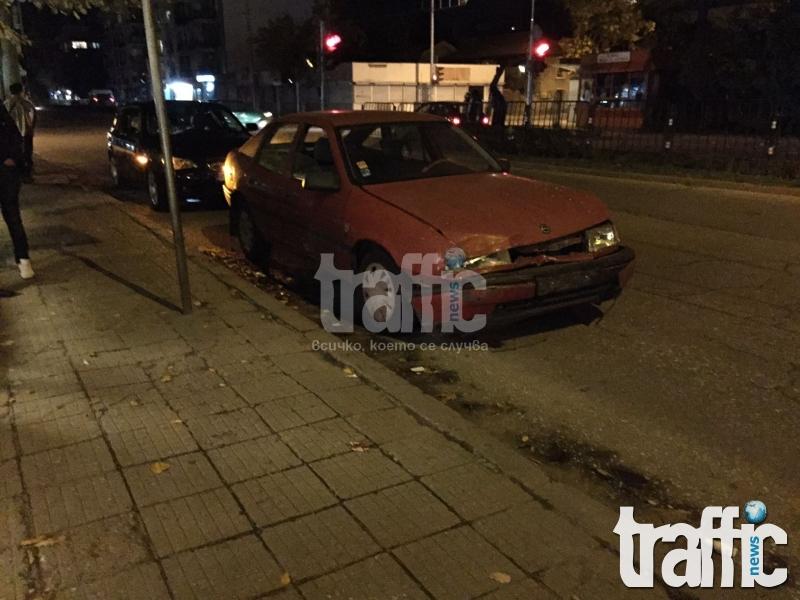 Джигит в Пловдив мина на червено, помете млад шофьор!