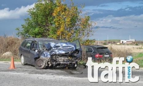 Христо Златински и семейството му катастрофираха край Русе