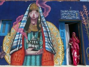 150 художници изрисуват остров СНИМКИ