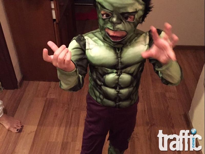 Уникален костюм на дете от Пловдив за Хелоуин
