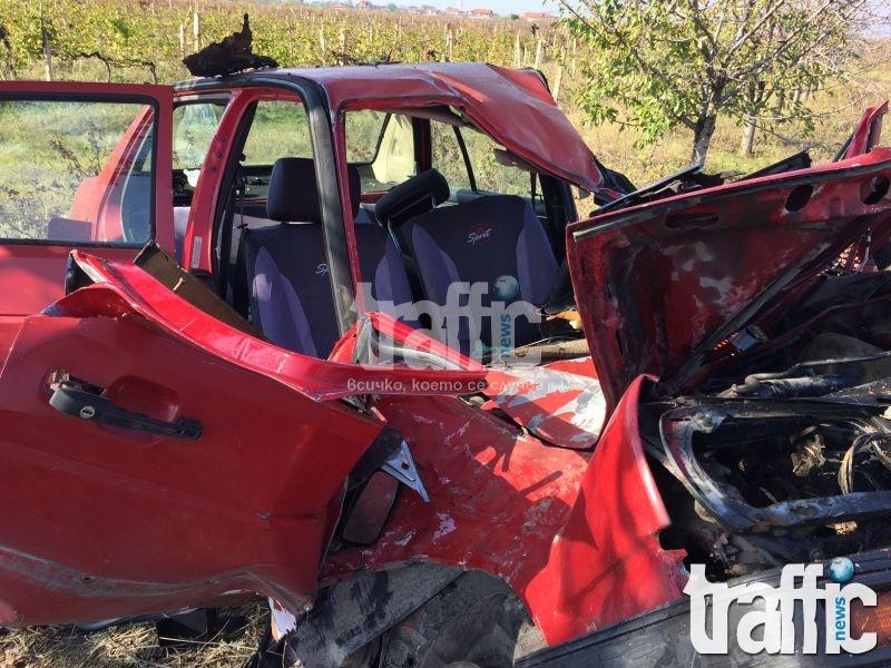 Колата край Брестник летяла с около 130 км/ч СНИМКИ и ВИДЕО