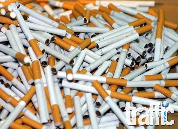 Иззеха над 10 хиляди контрабандни цигари от 18-годишен