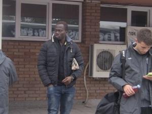 Ошобе Оладележ: Тренирам от три дни, нормално е да не съм в групата
