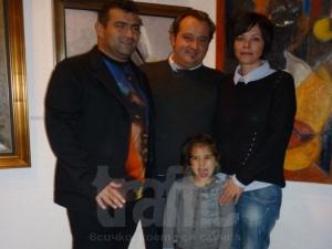 Чичото на Цвети Пиронкова с изложба в Пловдив СНИМКИ