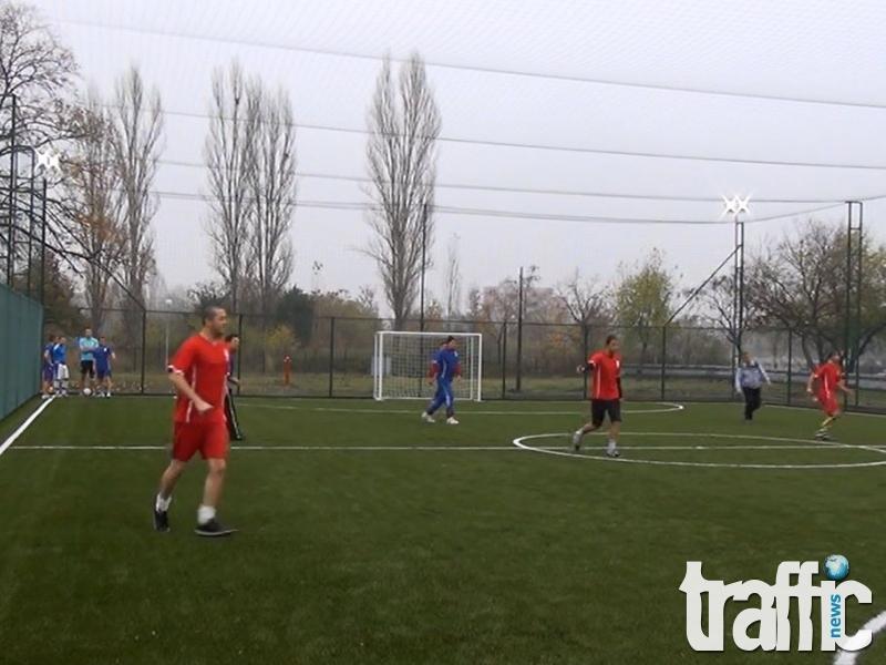 Супер модерна спортна зала за младите медици в Пловдив СНИМКИ и ВИДЕО