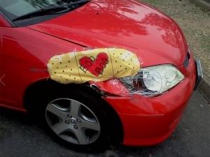 Да поправим колата си с подръчни материали