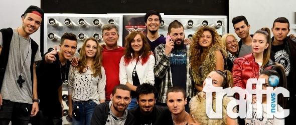 Любовни разкрития на сцената на X Factor