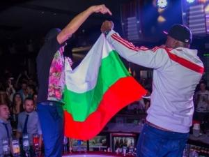 Рапарът Nana пристигна в Студентски град! Развя знамето на България