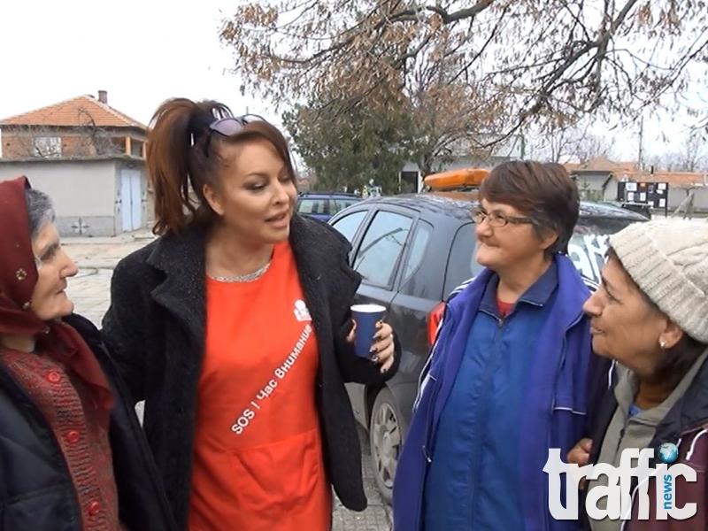 Певицата Ивана предава щафетата на д-р Енчев