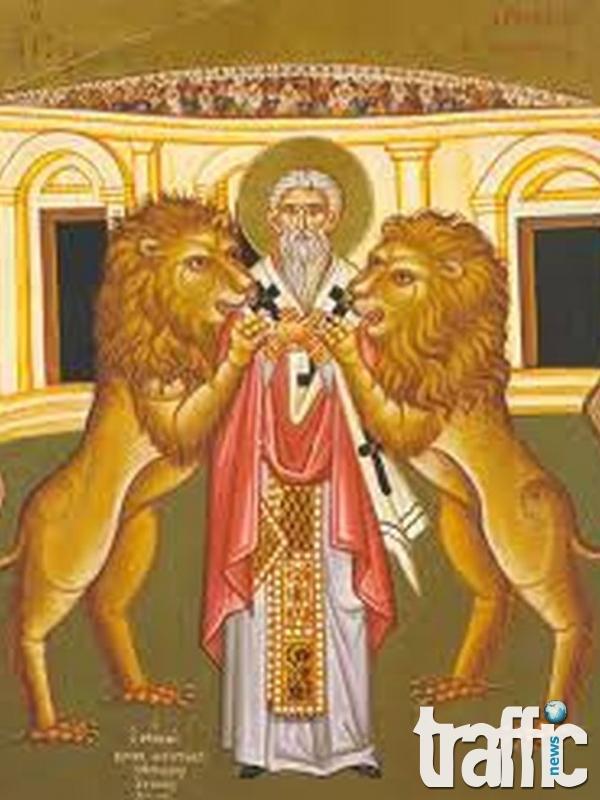 Църквата почита Свети пророк Данаил