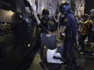 Масови демонстрации в Мадрид и Барселона