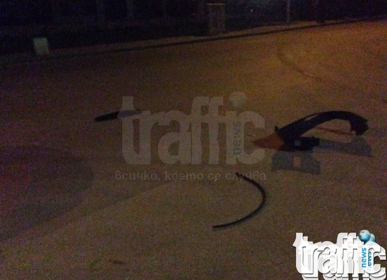 Ексклузивно в TrafficNews.bg: 17-годишен, без книжка ударил пешеходката в Тракия СНИМКИ