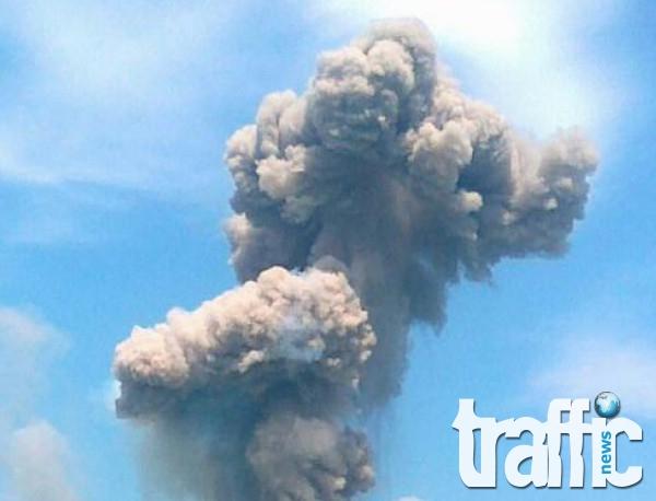 Взрив в завод край Мъглиж! Има един убит