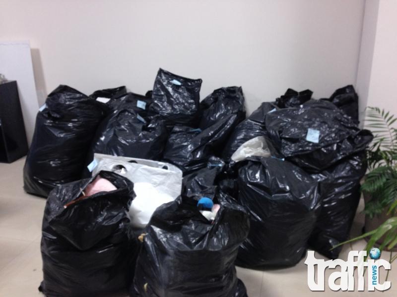 Топли дрехи и играчки в офиса на TrafficNews!