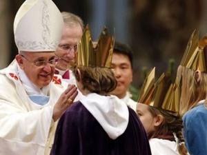 Папа Францис: Позволете на Бог да влезе в живота си