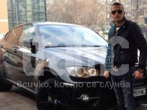 Само в  TrafficNews: Внукът на Кирил Рашков върти гуми с БМВ Х6 ВИДЕО