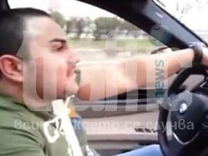 241 км в час развива шофьор по пътя Димитровград -Хасково! ВИДЕО