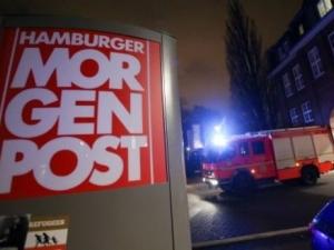 """Ад и в Германия! Подпалиха редакция в Хамбург, защото препечатала карикатурите от """"Шарли ебдо"""""""