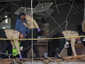 Взрив в банка в центъра на Одеса