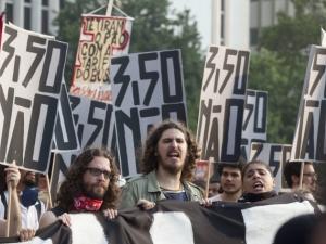 Пореден протест срещу цените на автобусните билети в Сао Пауло