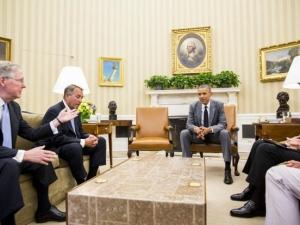 Обама: Кризата премина и Съединените щати са силни