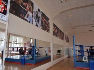 Новата зала по бокс на Локомотив Пловдив