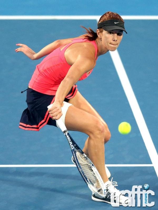 Цветана Пиронкова беше надиграна от Виктория Азаренка