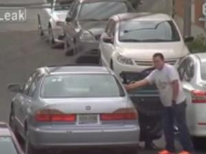 Как се краде гума ВИДЕО