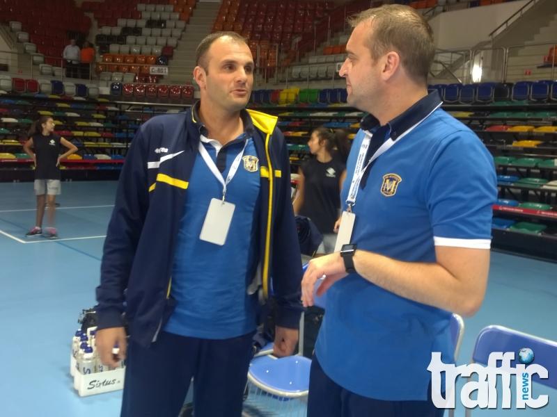 Борис Халачев преди мача с Казанлък: Продължаваме да се борим за титлата