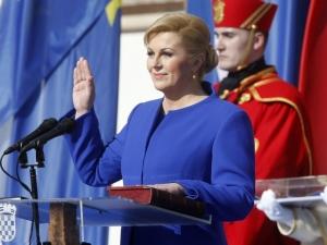 Първата жена президент за Хърватия е Колинда Грабар-Китарович