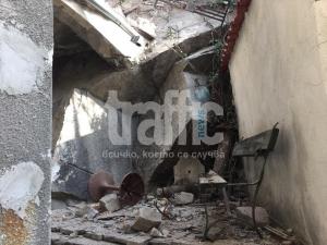 Децата от къщата под Тексим тепе за скалите: Беше като земетресение ВИДЕО