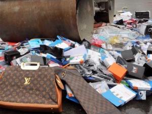 Митница Свиленград унищожи дрехи и обувки