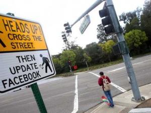 Американски град въведе пътен знак за Facebook