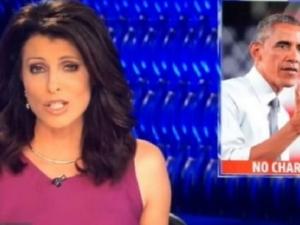 Гаф в ефир: Показаха Обама като изнасилвач