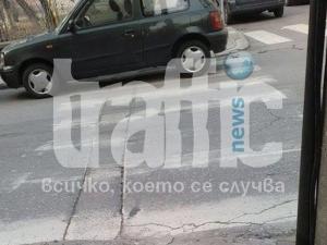 Наглец спря на пешеходна пътека близо до детска градина в \