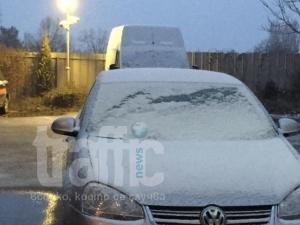 Отново снежна покривка в Пловдив