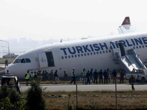 Вижте видео от катастрофата на самолета на Търкиш Еърлайнс