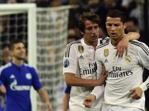 Роналдо навъртя най-малък километраж в мача с Шалке 04