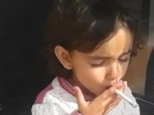 Сезираха ДАНС за случая с 3-годишното дете, което пуши цигари